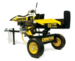 skid steer log splitter