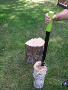 lowes log splitter