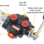 log splitter valve