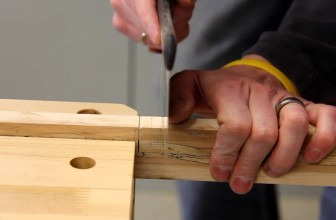 Guide to Cut Notches in a Wood While Constructing Your House